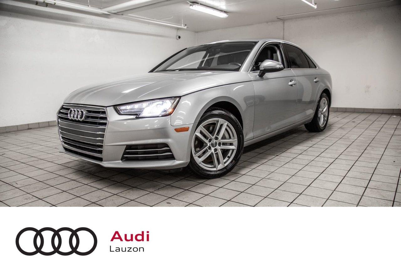 Audi A4 2017 KOMFORT ENS COMMODITÉS