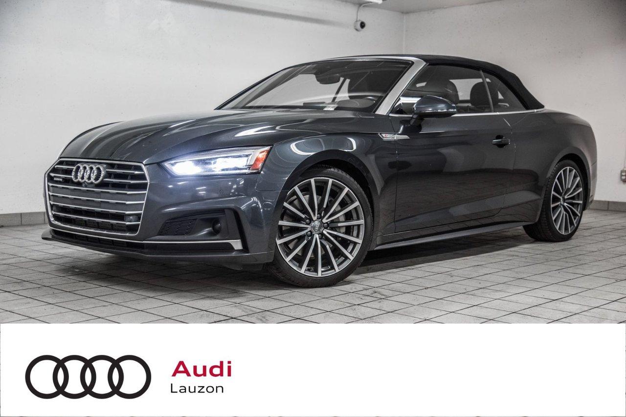 Audi A5 2018 TECHNIK S-LINE COMFORT SEATS
