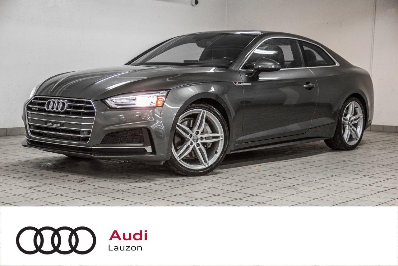 Audi A5 2018 PROGRESSIV S-LINE SIEGES CONFORT