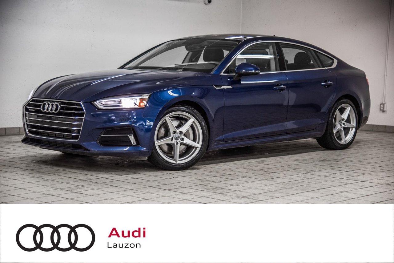 Audi A5 2018 KOMFORT ENS COMMODITÉS