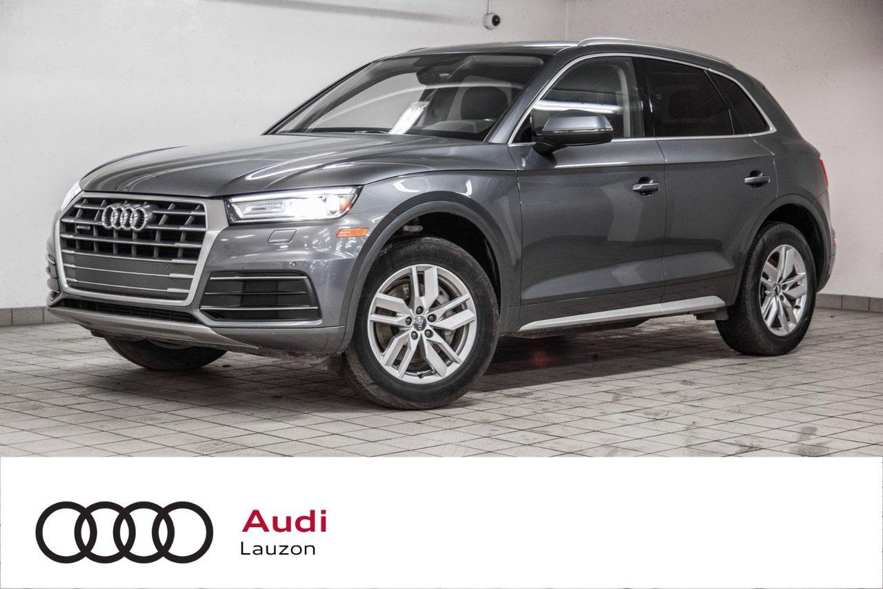 Audi Q5 2018 KOMFORT ENS COMMODITÉS