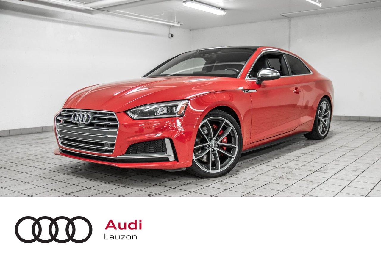 Audi S5 2018 TECHNIK CARBON INLAYS, RED CALIPERS