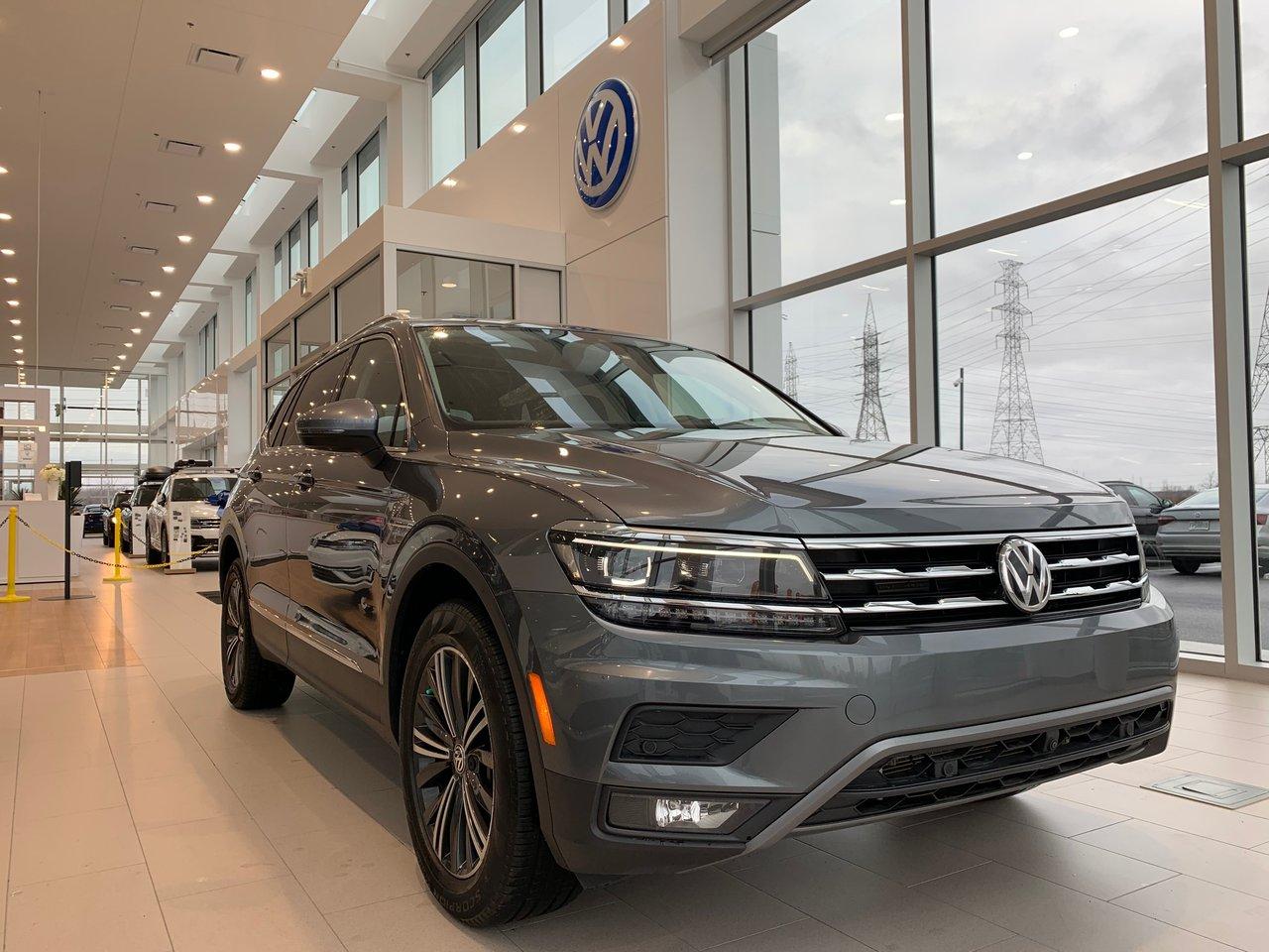 2018 Volkswagen Tiguan Highline AWD