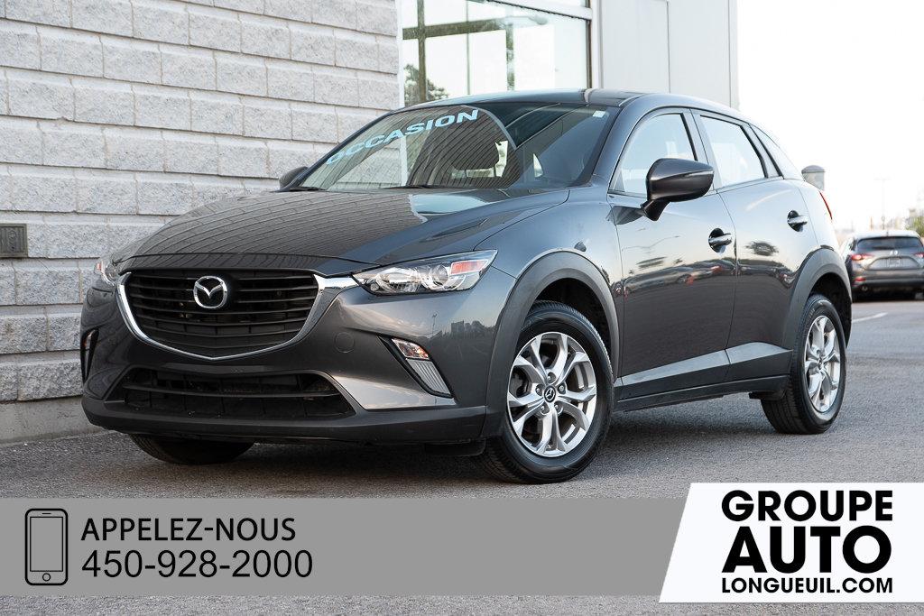 2018 Mazda CX-3 GS NAVIGATION+CAMERA DE RECUL+ SIEGES CHAUFFA
