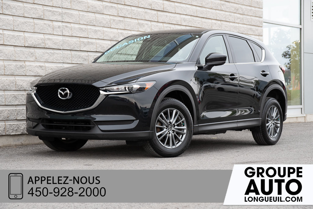 Mazda CX-5 2018 GS CUIR+CAMERA DE RECUL+SIEGES CHAUFFANT