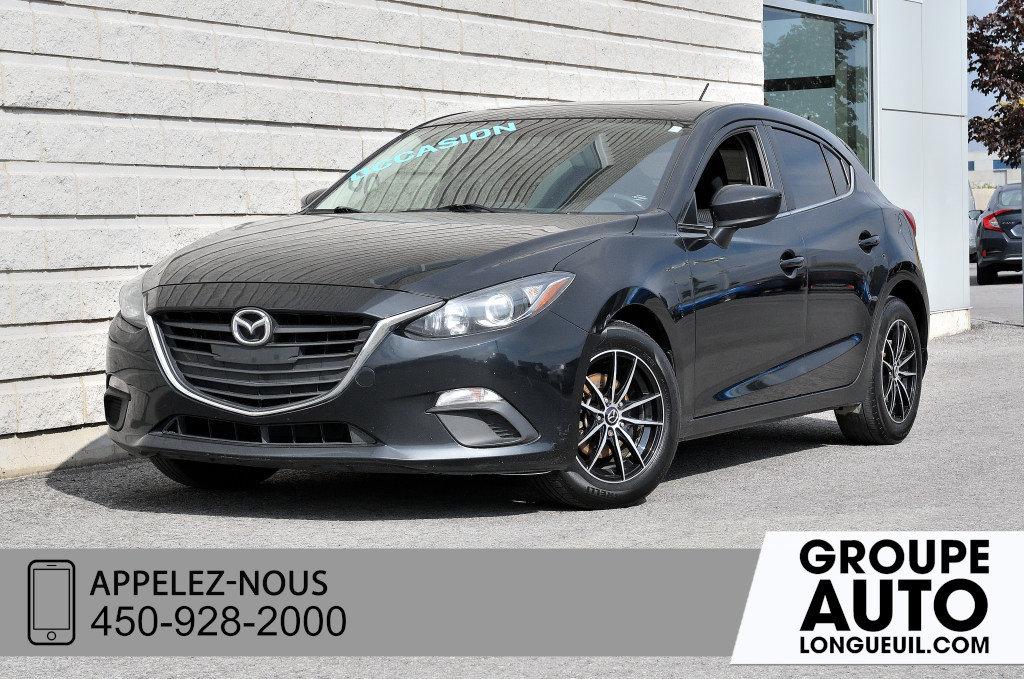 2016 Mazda Mazda3 GS A/C+TOIT+BLUETOOTH+CAMERA DE RECUL