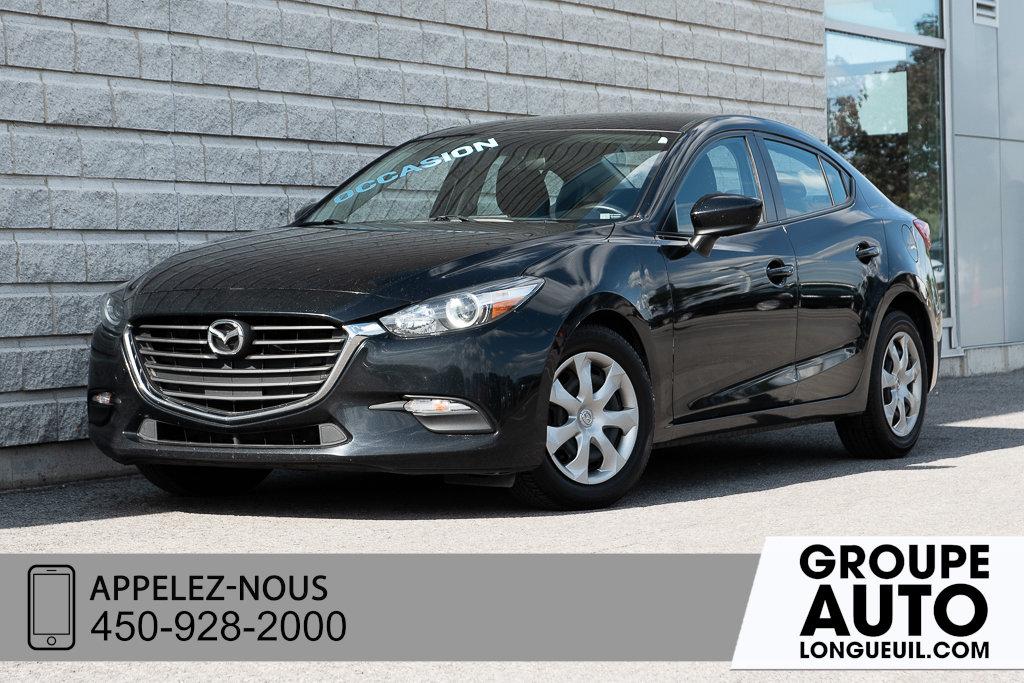 2017 Mazda Mazda3 GX A/C+BLUETOOTH+CAMERA DE RECUL