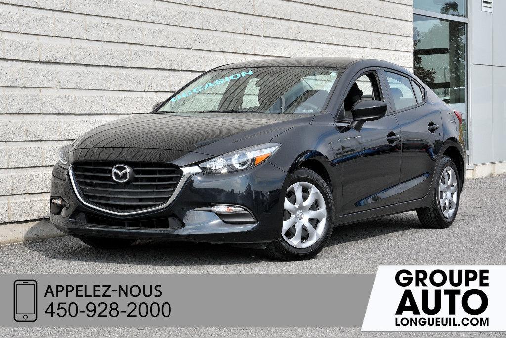 2018 Mazda Mazda3 GX A/C+GROUPE ELECTRIQUE+COMMANDES AUDIO