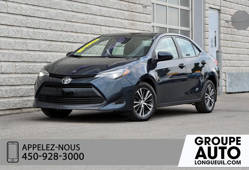Toyota Corolla 2018 LE AUT TOIT OUVRANT CAMERA MAGS ANTI VOL