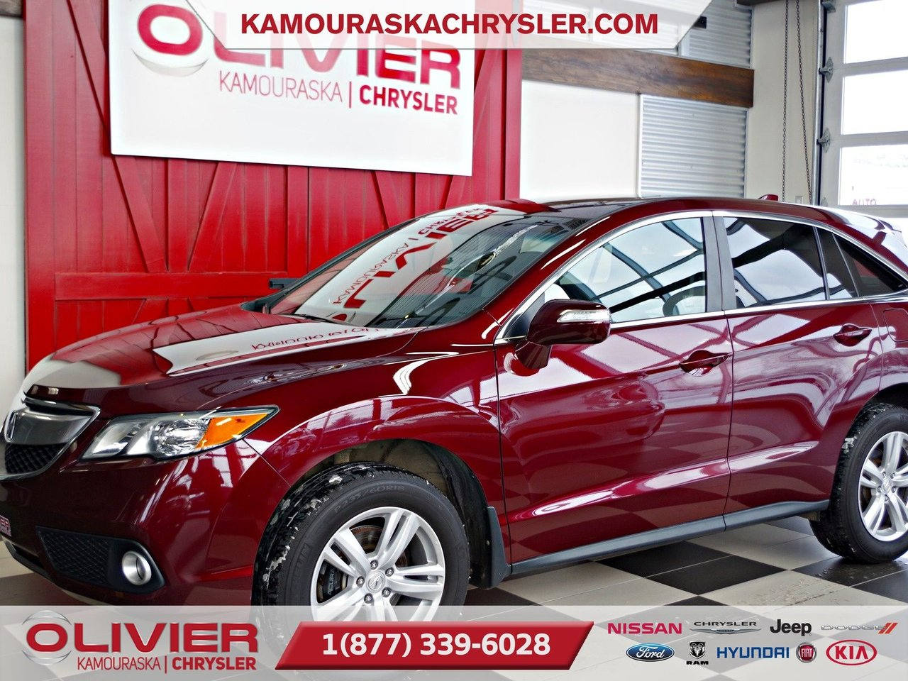 2015 Acura  RDX AWD, BLUETOOTH, CAMERA DE RECUL