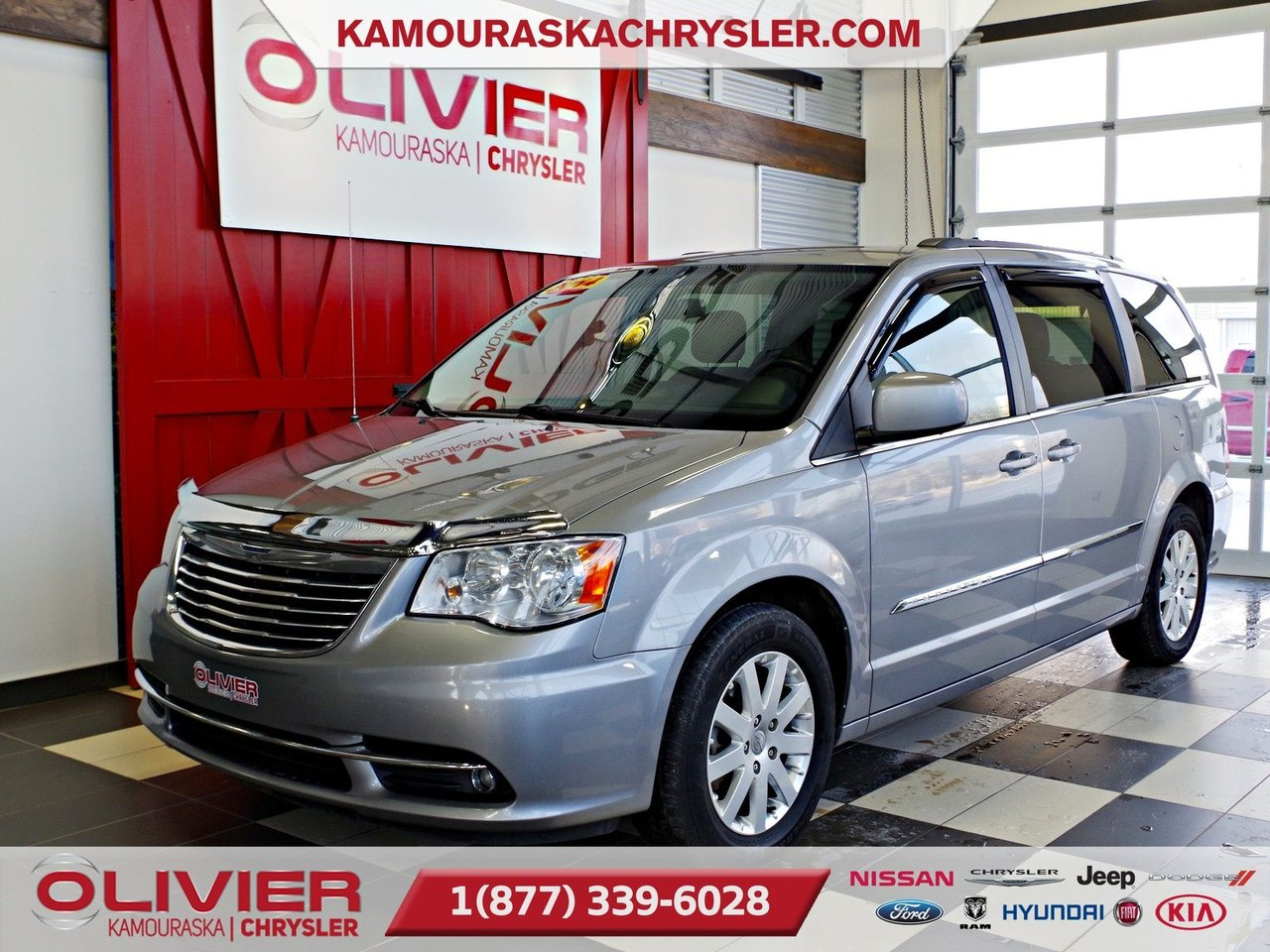 2014 Chrysler  Town & Country Touring STOW'N GO, MAGS, ATTACHE REMORQUE