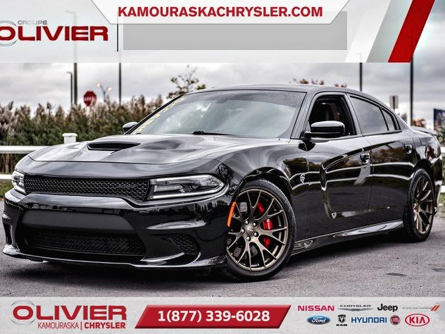 2016 Dodge  Charger SRT Hellcat, GPS,BLUETOOTH CUIR ET SUEDE