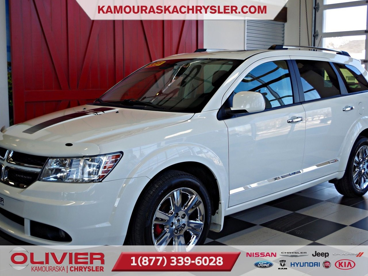 2011 Dodge  Journey R/T AWD, ATTACHE REMORQUE, TOIT OUVRANT