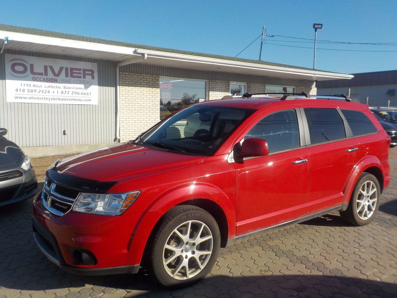 dodge journey 2014 d 39 occasion vendre chez olivier occasion baie comeau. Black Bedroom Furniture Sets. Home Design Ideas