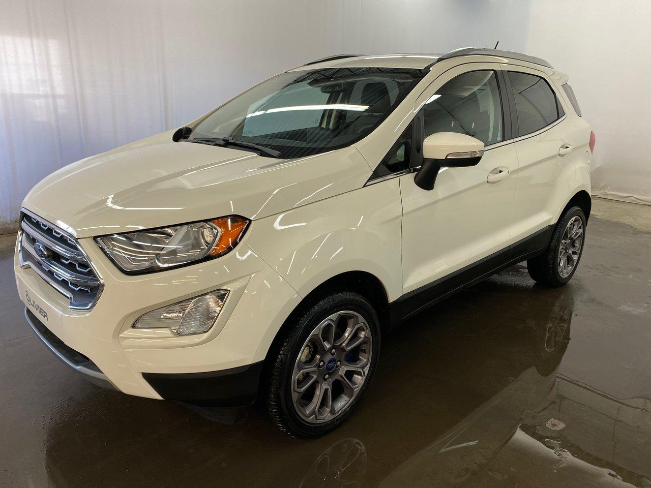 Ford EcoSport 2020 Titanium 4WD MAGS CAMÉRA NAV CUIR TOIT BLUETO