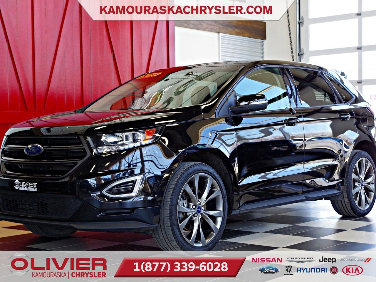 2016 Ford  Edge Sport AWD, GPS TOIT OUVRANT, BLUETOOTH