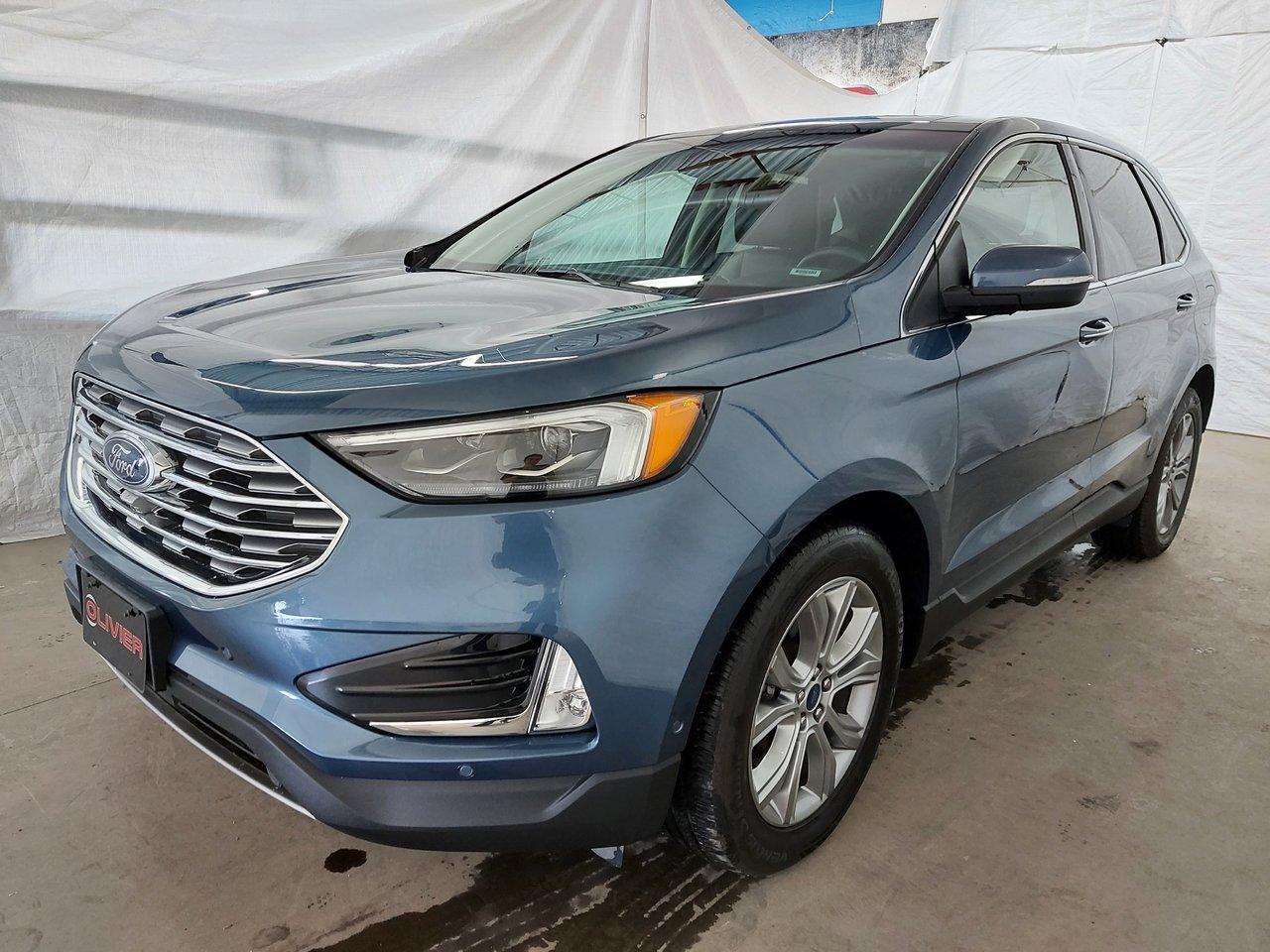 2019 Ford Edge Titanium AWD MAGS CAMÉRA NAV CUIR TOIT PANO A