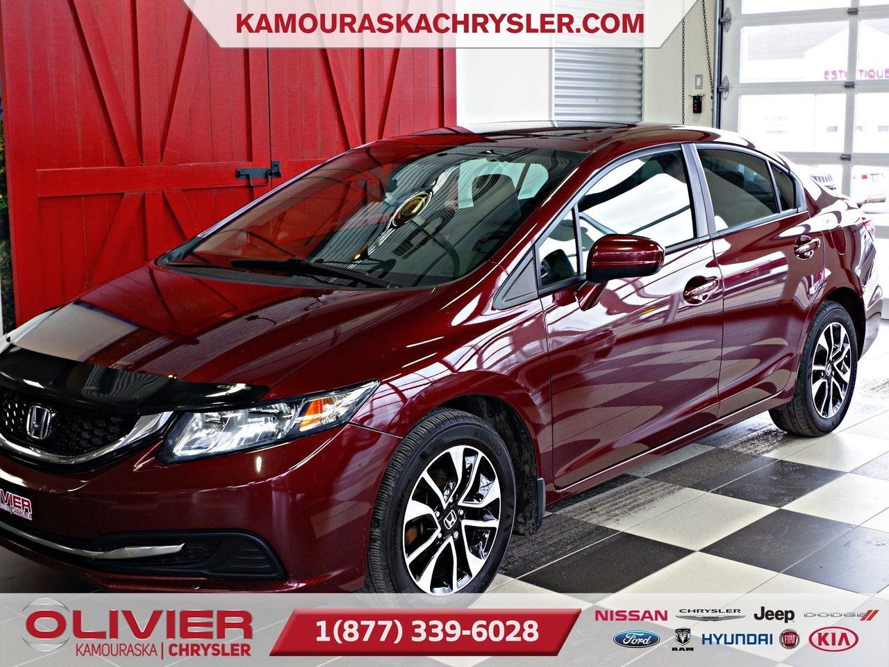 2015 Honda  Civic Sedan LX, REGULATEUR DE VITESSE, BLUETOOTH, TOIT OU
