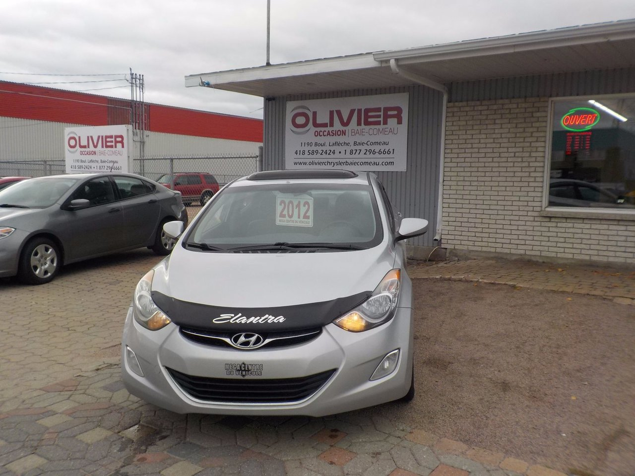Hyundai elantra 2012 d 39 occasion vendre chez olivier for Nelson honda el monte