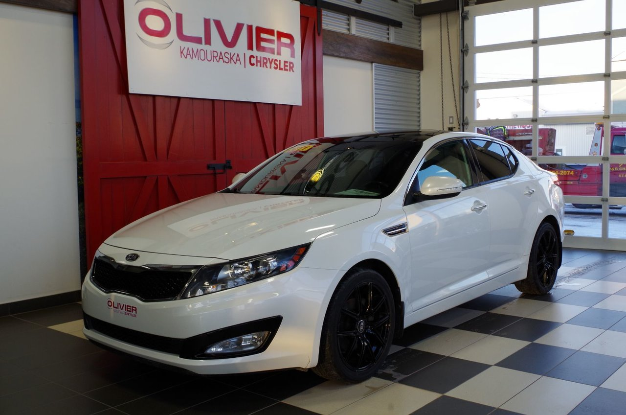 2011 Kia  Optima EX LUXURY BLUETOOTH, MAGS, TOIT OUVRANT