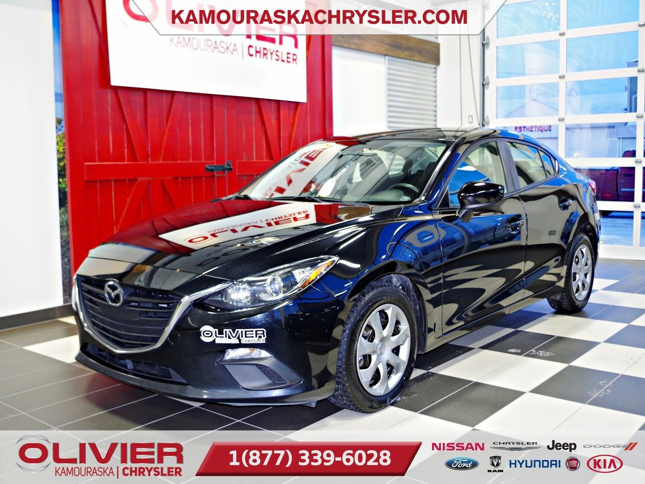 2015 Mazda  Mazda3 ATTACHE REMORQUE, LECTEUR CD,BLUETOOTH