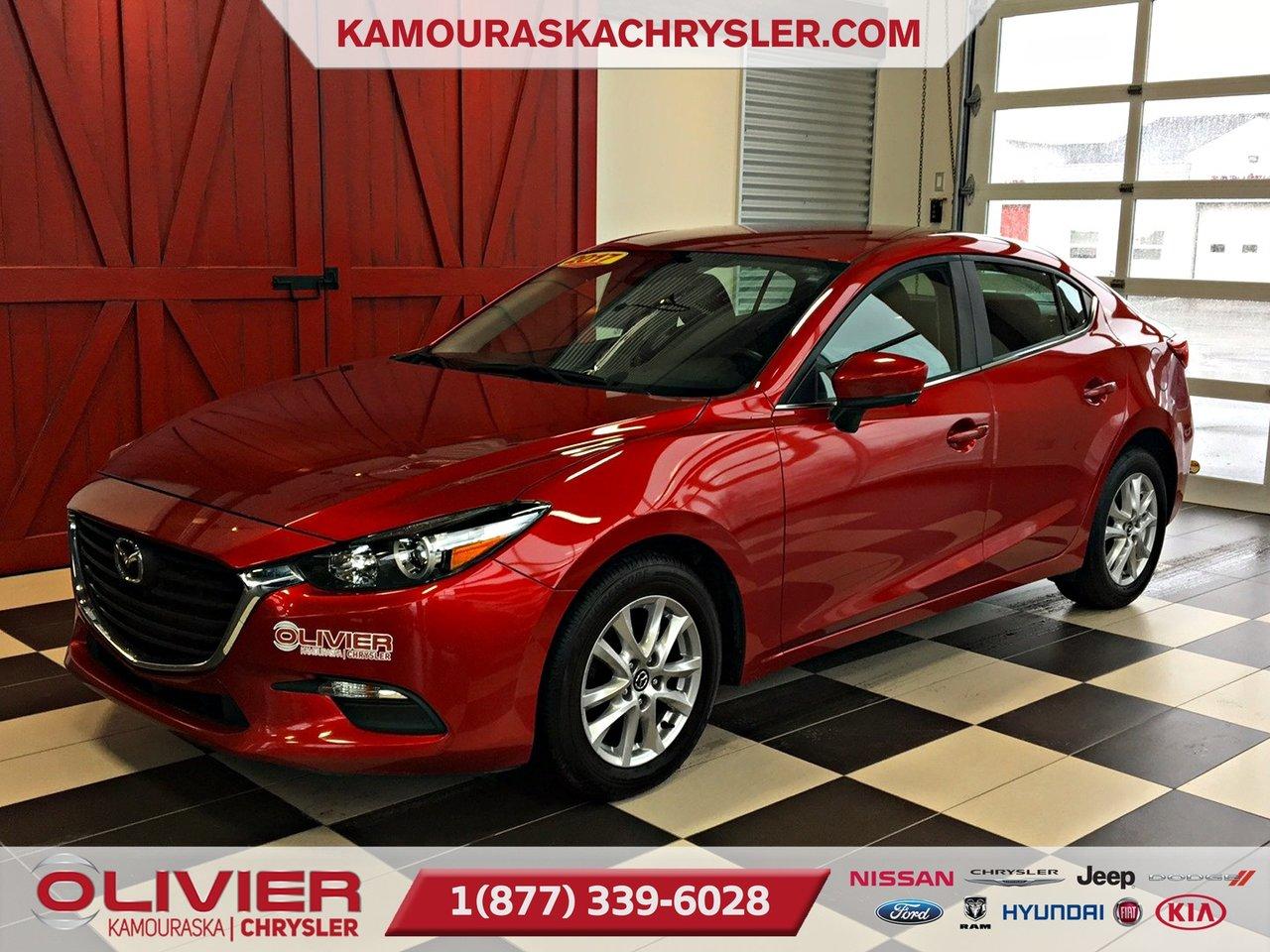 2017 Mazda  Mazda3 GS BLUETOOTH, CLIMATISATION