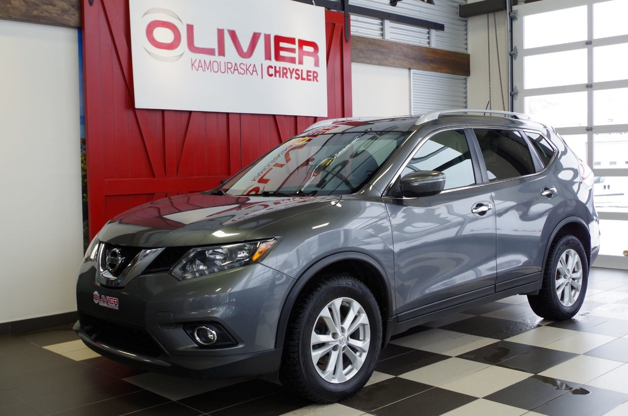 2014 Nissan  Rogue SV AWD BLUETOOTH, TOIT OUVRANT