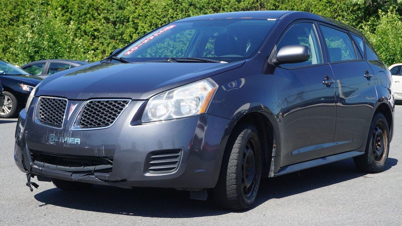 2009 Pontiac  Vibe POUR PETIT BUDGET-VENDU TEL-QUEL