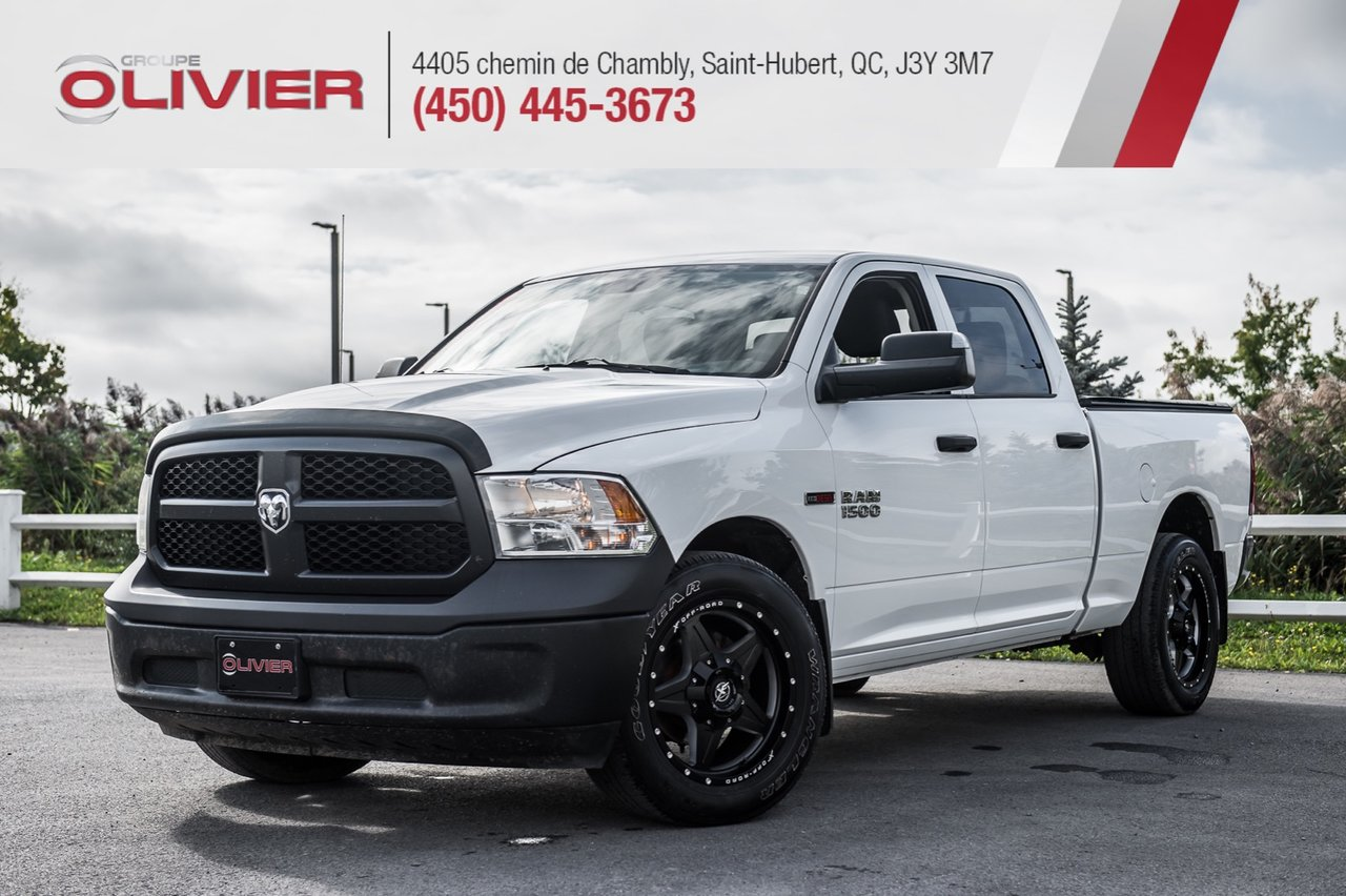 2014 RAM  1500 Tradesman 4X4 MAGS HITCH A/C