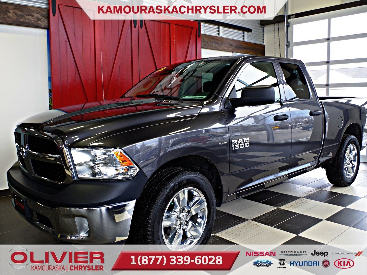 2017 RAM  1500 ST V6, ATTACHE REMORQUE, MAGS, BLUETOOTH