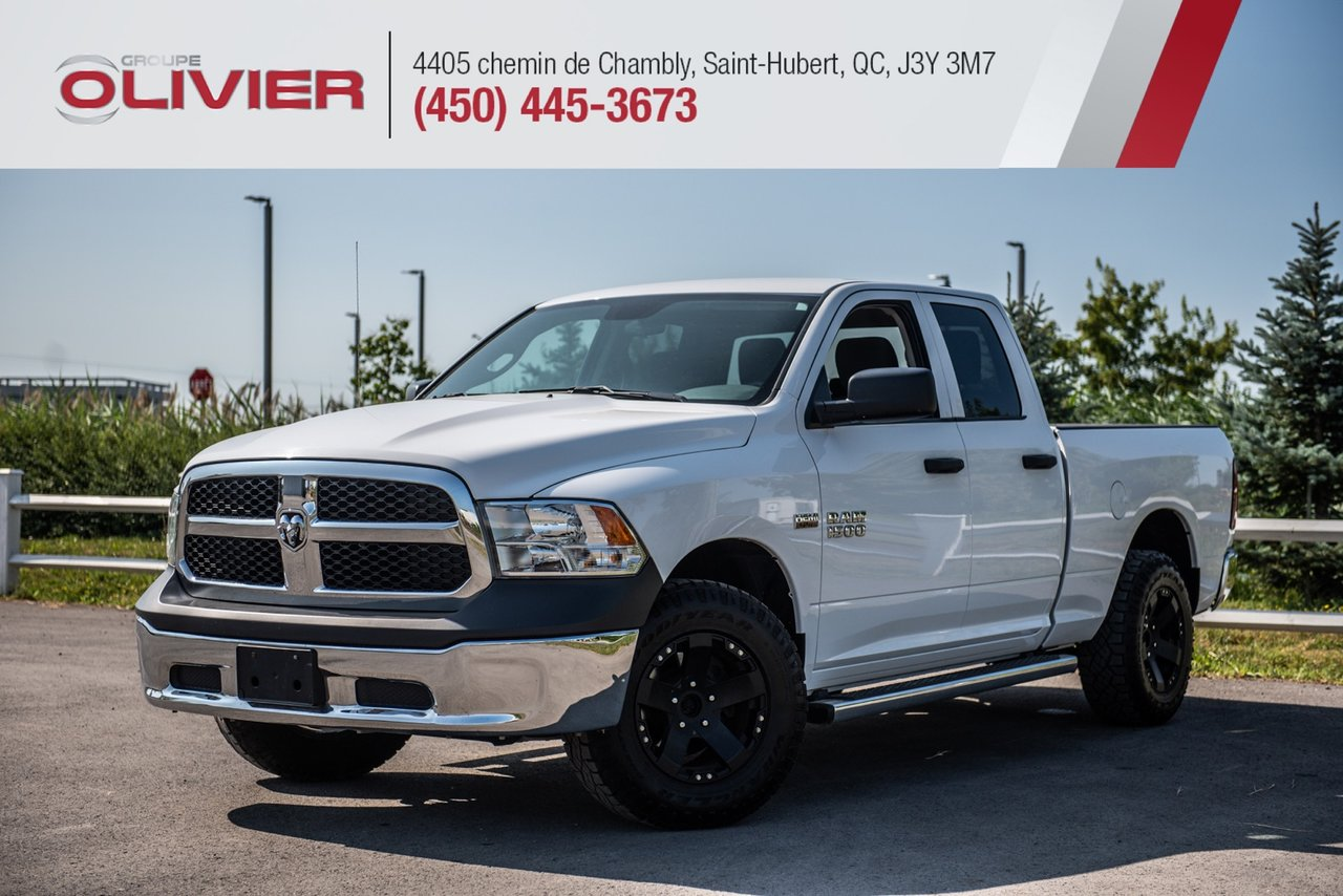 2017 RAM  1500 ST 4X4 MAGS HITCH A/C