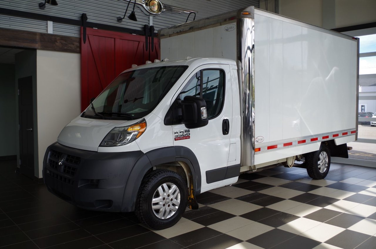2015 RAM  Promaster 3500, BOITE, CLIMATISATION, MAGS