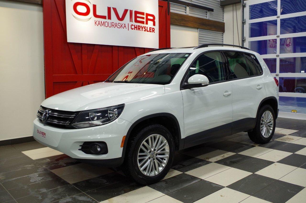2016 Volkswagen  Tiguan CONFORTLINE, TOIT OUVRANT, BLUETOOTH