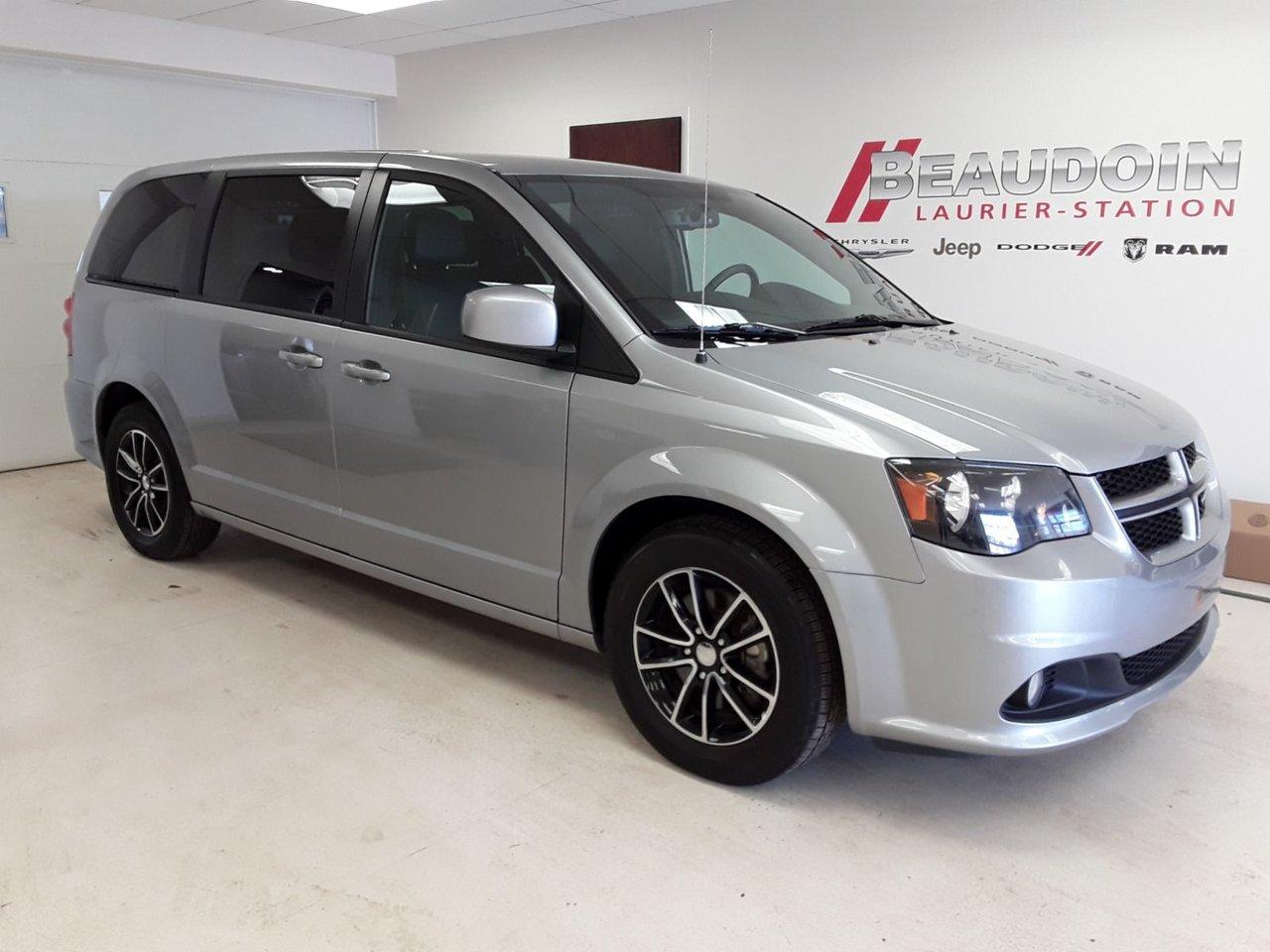 2018 Dodge  Grand Caravan GT INT CUIR, CAMÉRA DE RECUL, PORTE HAYON