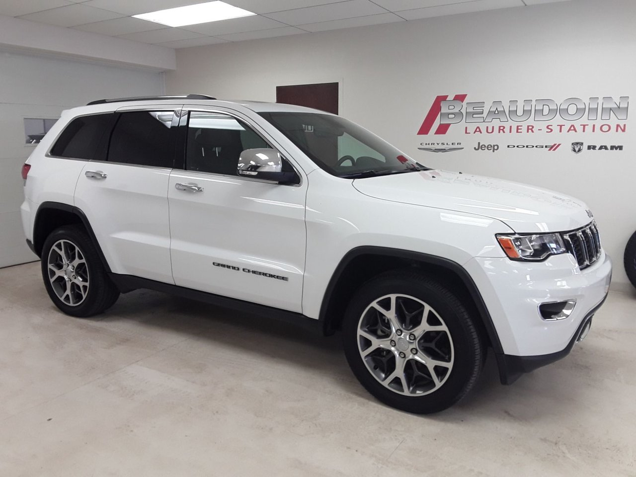 2019 Jeep  Grand Cherokee Limited INT CUIR, TOIT OUVRANT, GPS, BLUETOOT