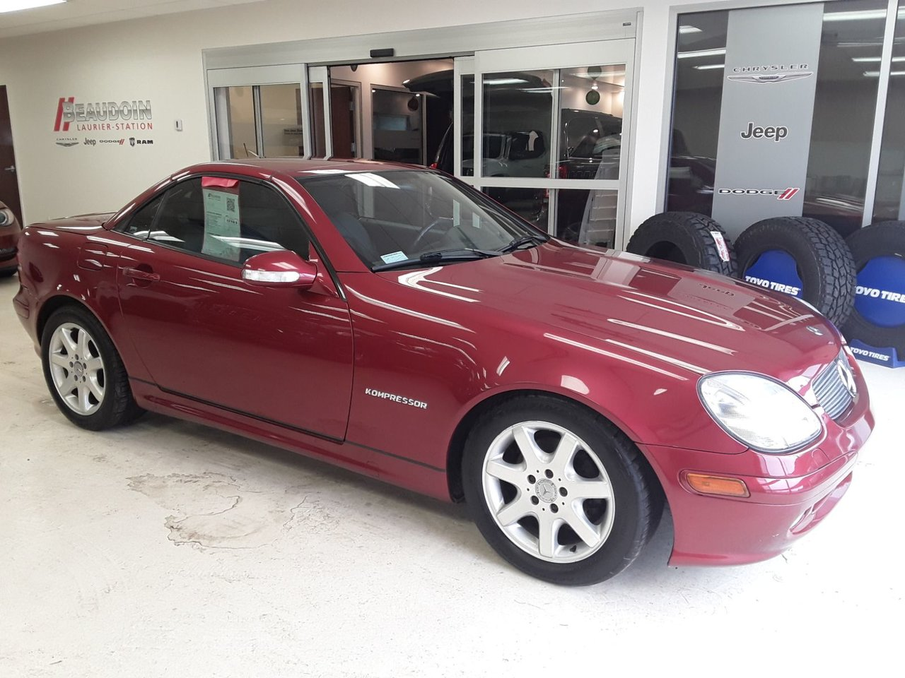 2002 Mercedes-Benz  SLK-Class 2 PORTES 2 PLACES ,CONVERTIBLE