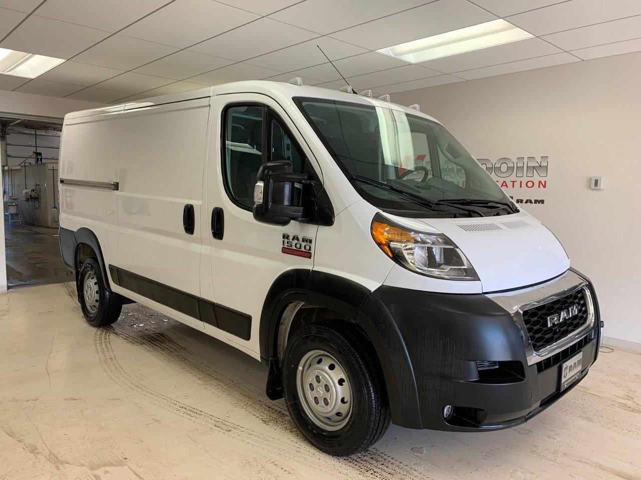 2019 RAM  ProMaster Cargo Van LOW ROOF 136 IN WB