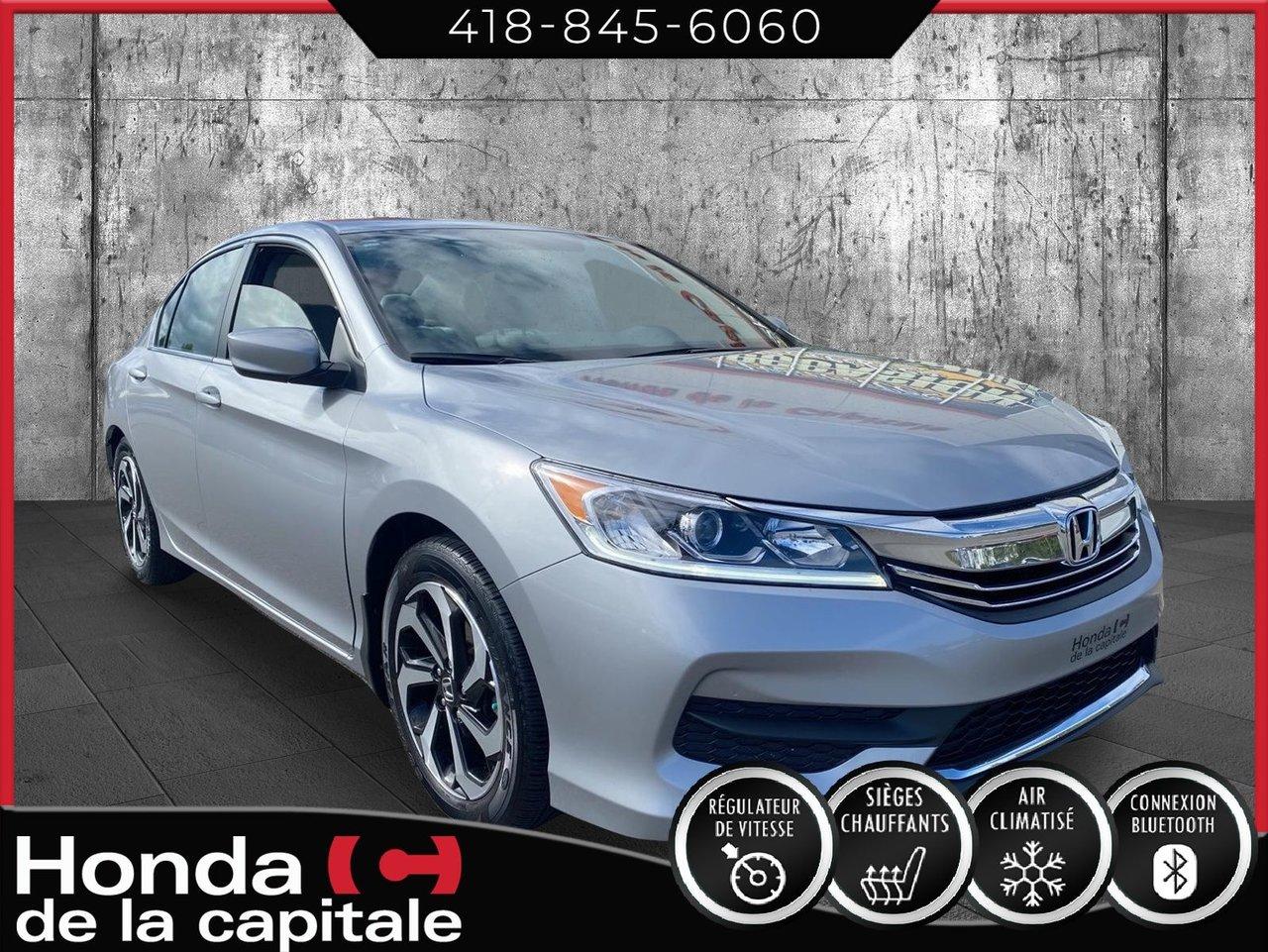 Honda Accord 2017 LX AUTOMATIQUE