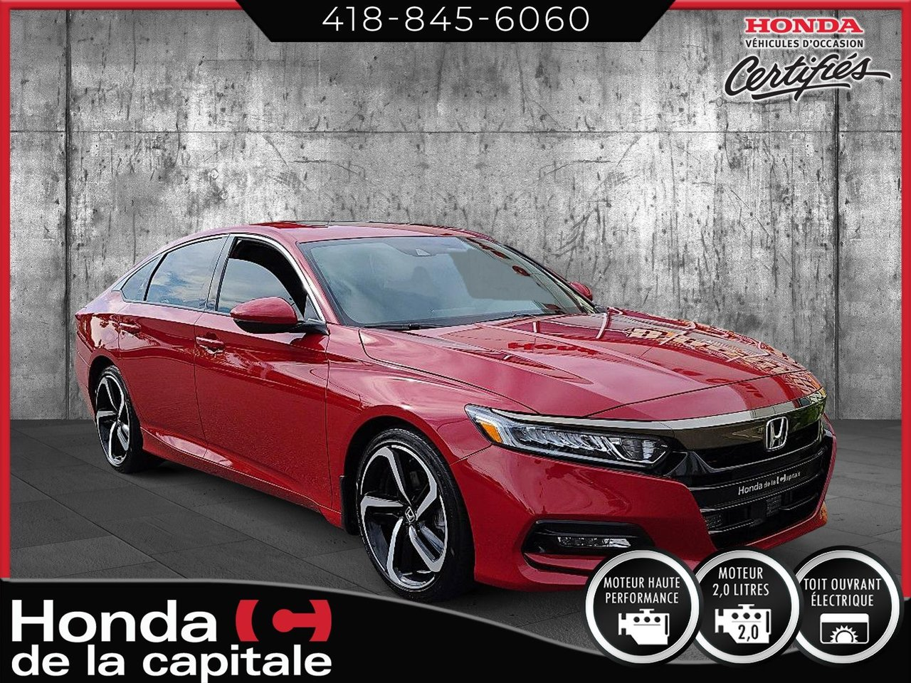 Honda Accord 2019 Sport 2.0