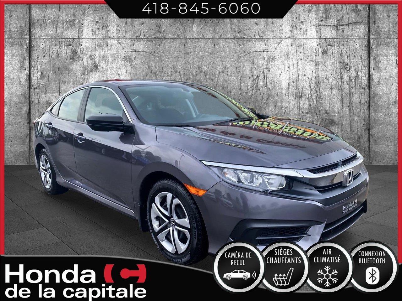 Honda Civic 2018 DX  **PAS DE CLIMATISATION**