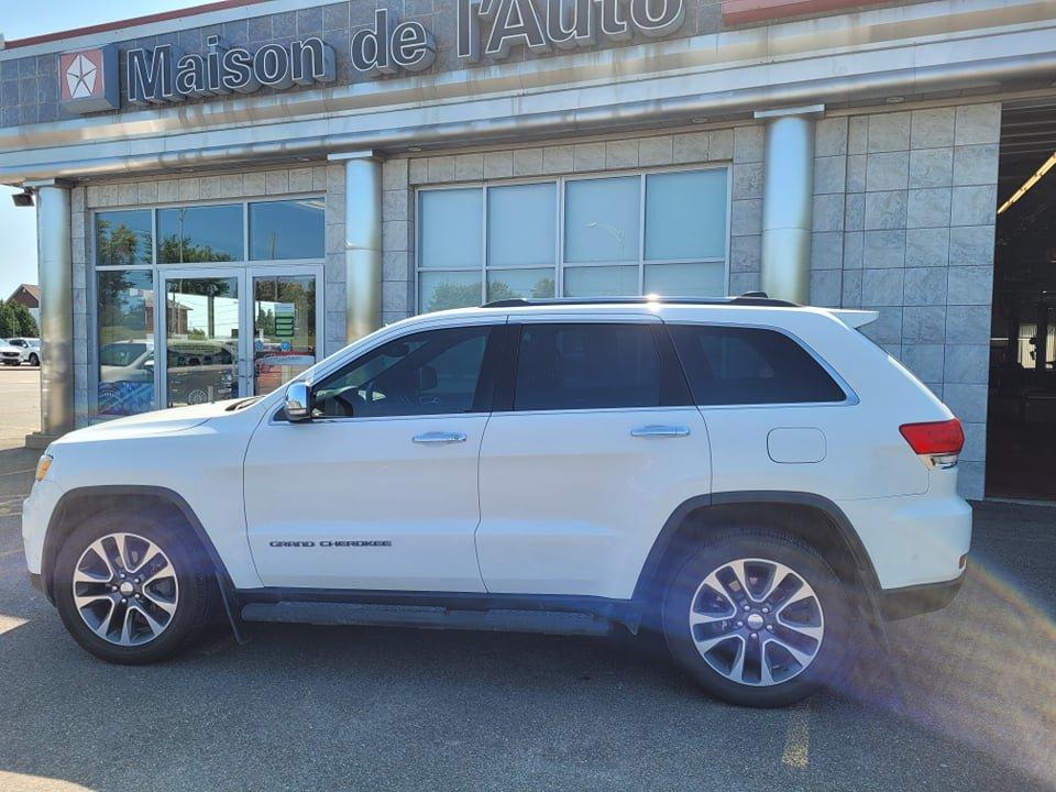 Jeep Grand Cherokee 2018 Limited en cuir