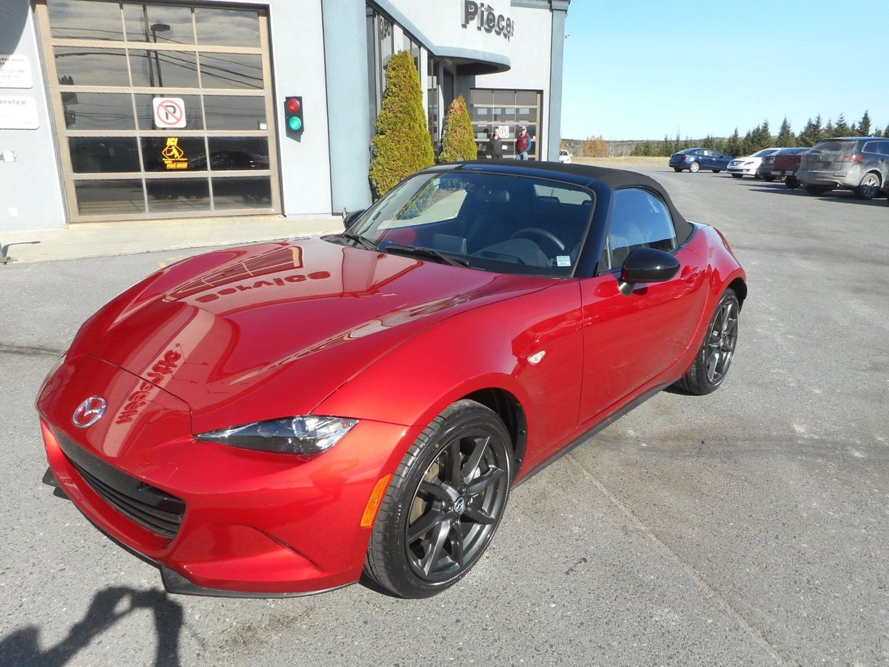 mazda mx 5 2016 d 39 occasion vendre chez megantic mazda. Black Bedroom Furniture Sets. Home Design Ideas