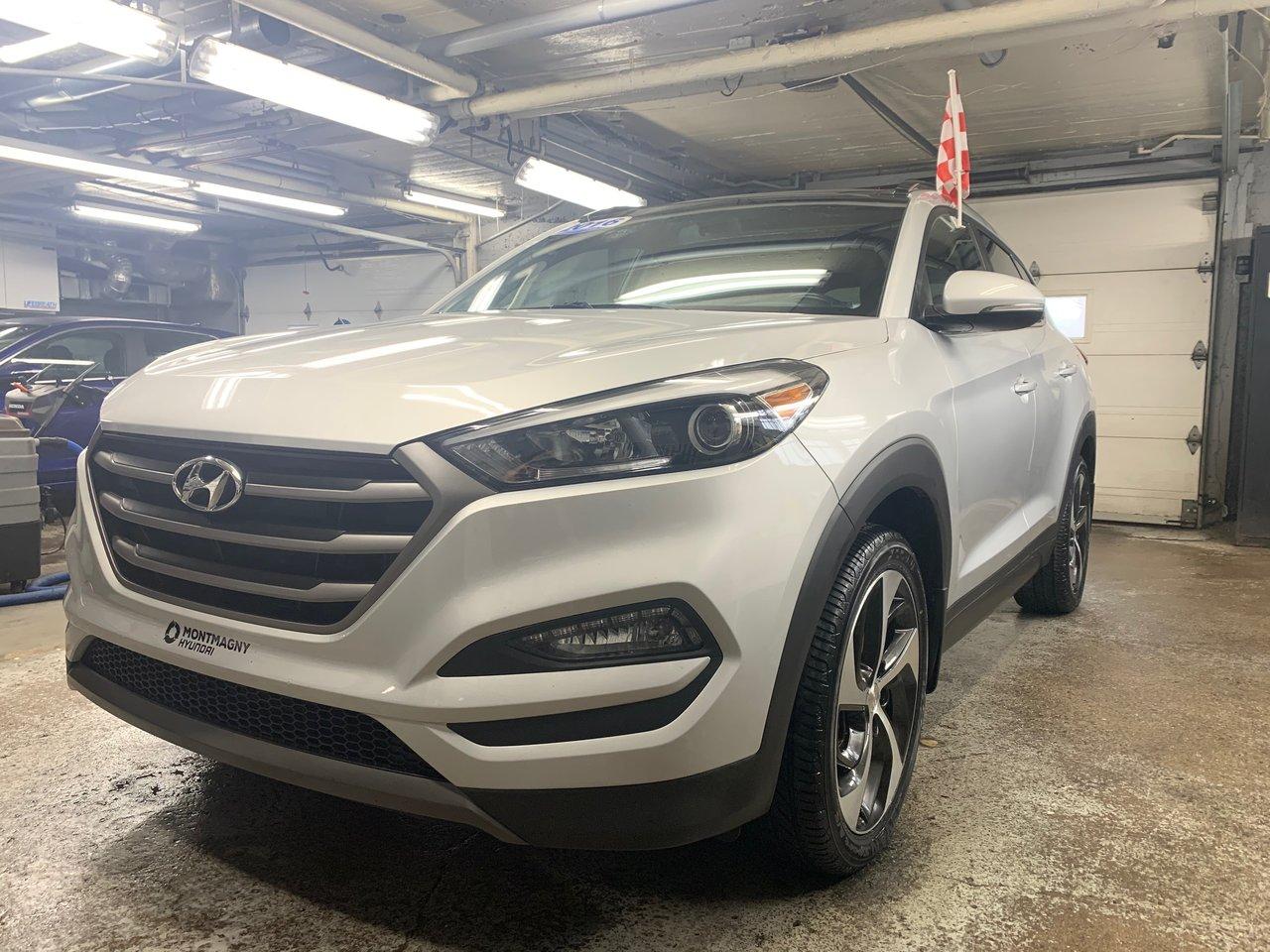 2016 Hyundai  Tucson Limited; A/C; Toit ouvrant; GPS; Caméra de re