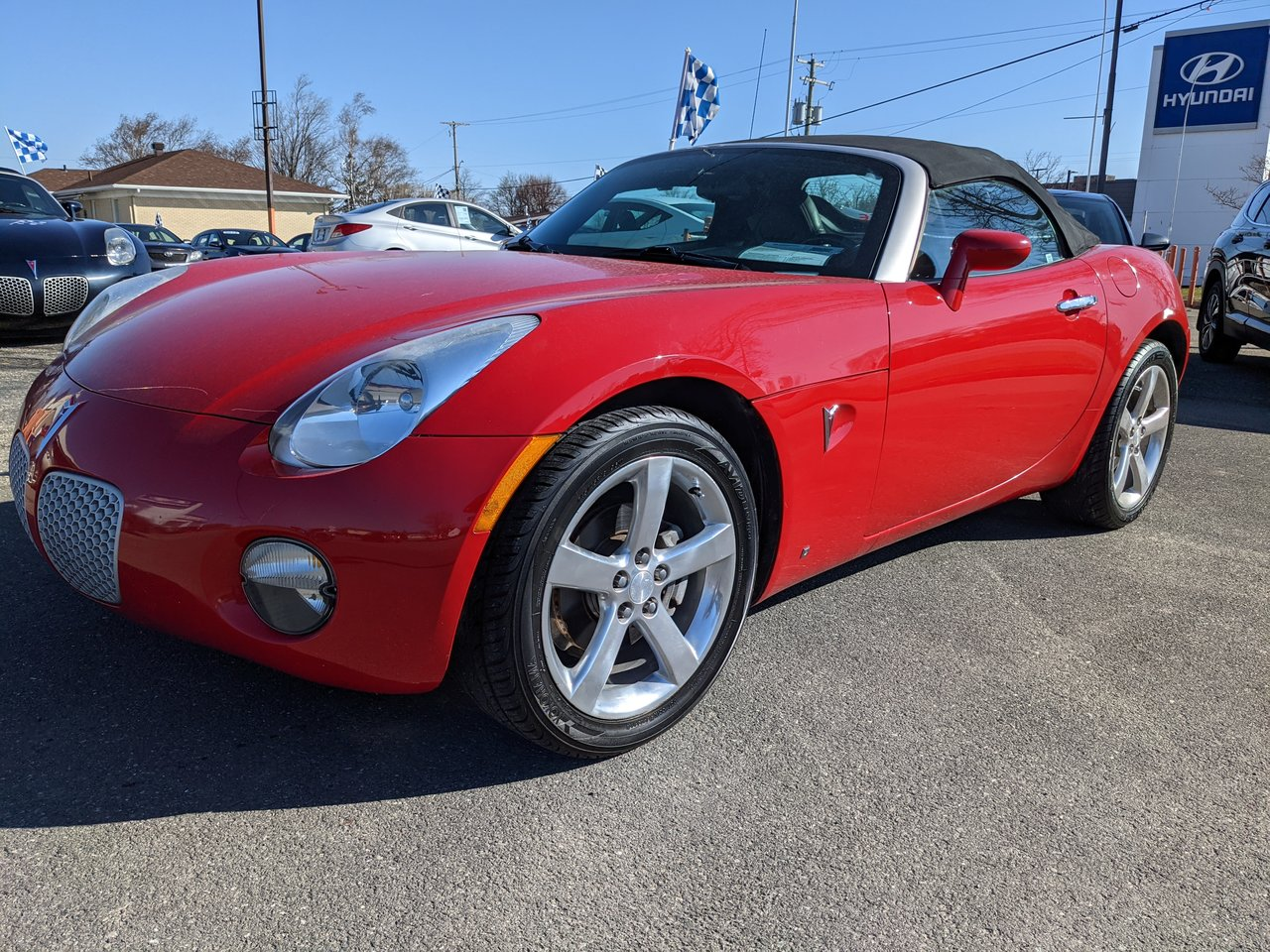 2006 Pontiac  Solstice ROADSTER; WITH A/C/