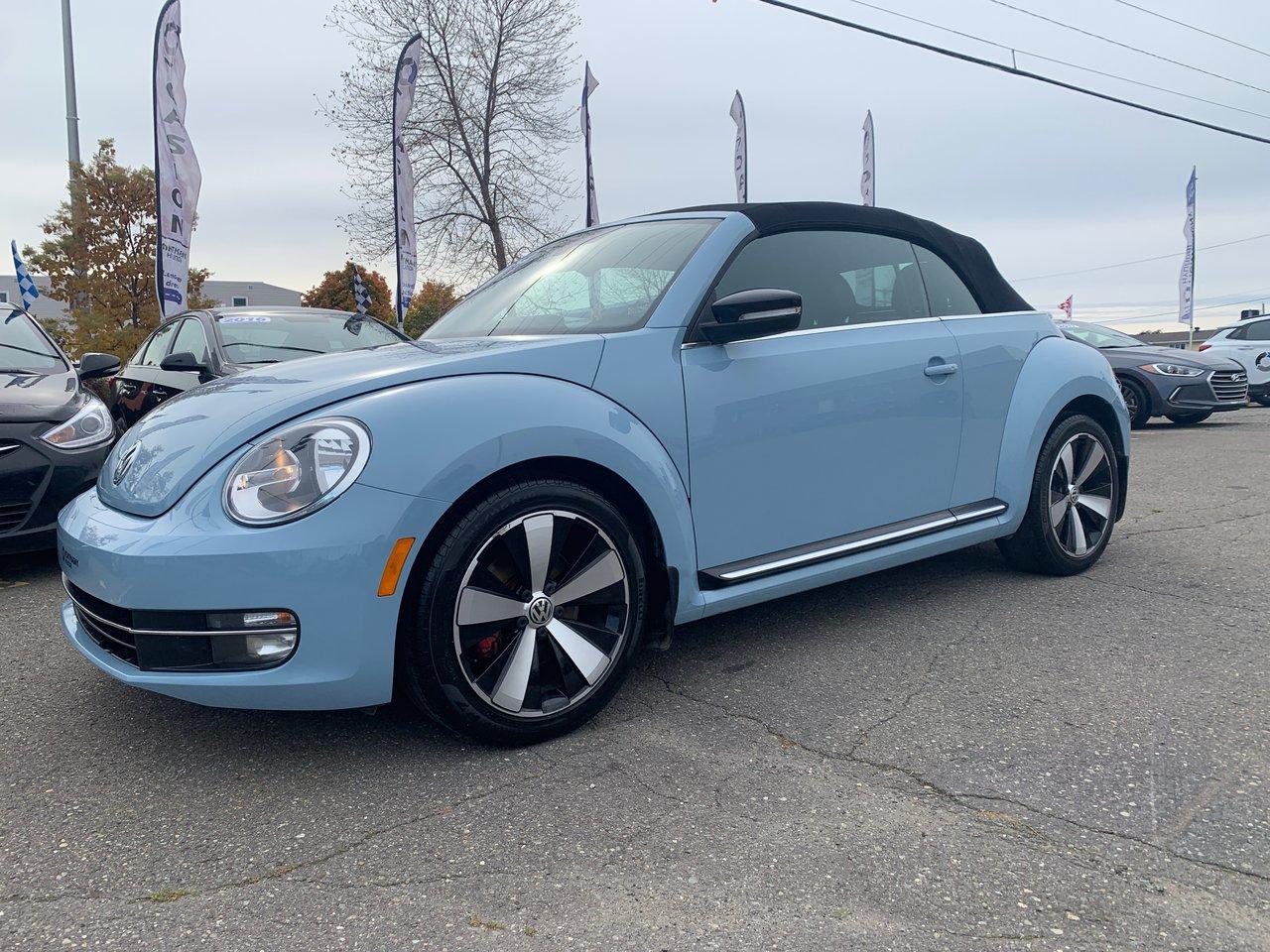 2014 Volkswagen  Beetle Convertible Sportline; Automatique; A/C; Bluetooth