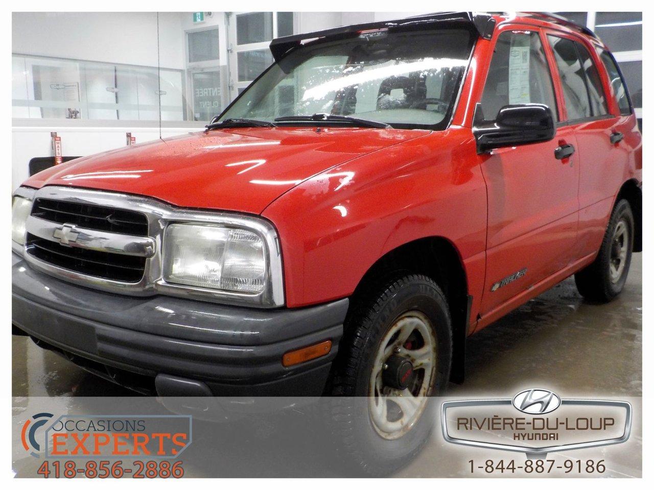2003 Chevrolet  Tracker 4X4,MANUEL