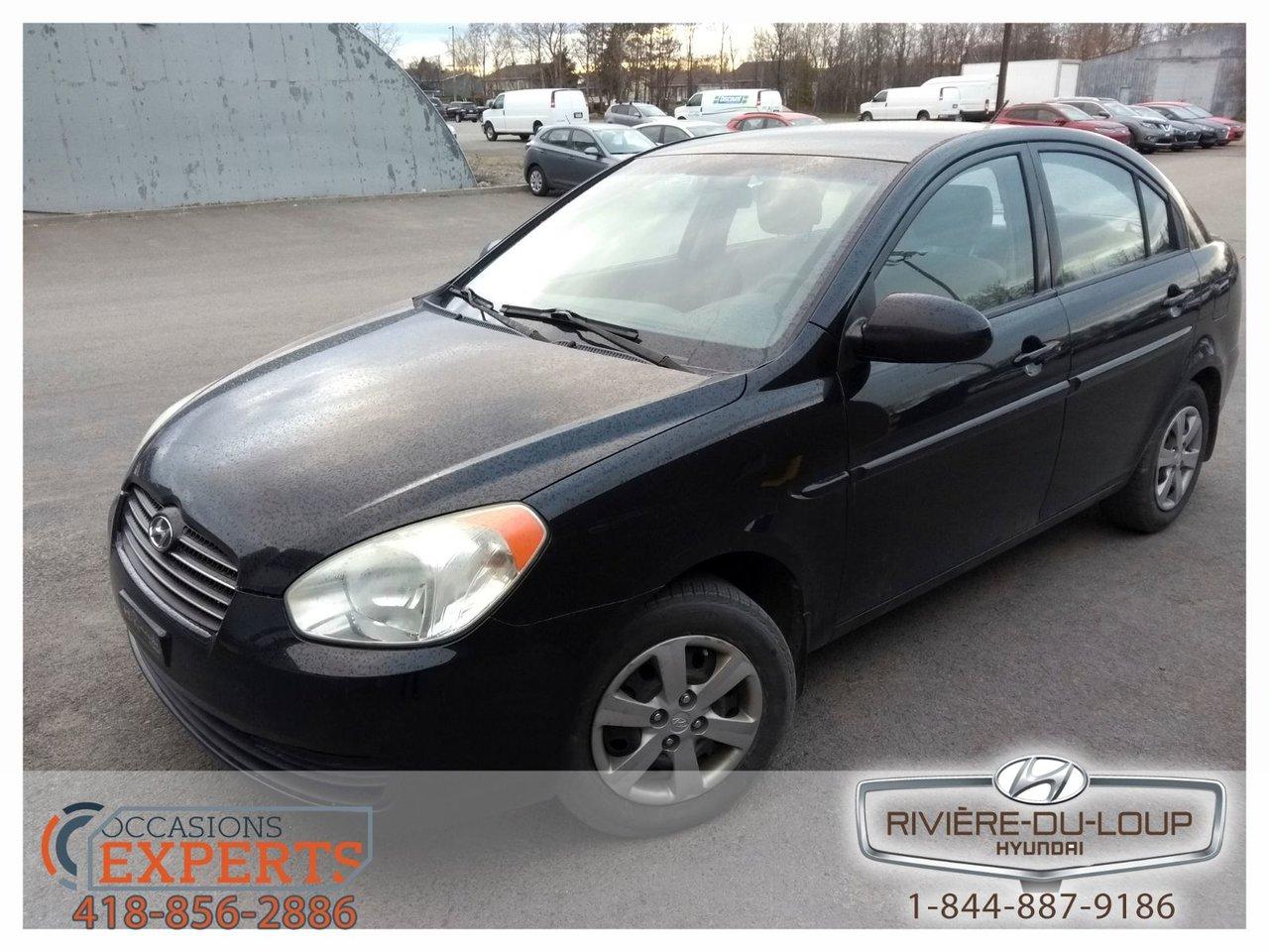 2009 Hyundai  Accent L,MANUEL