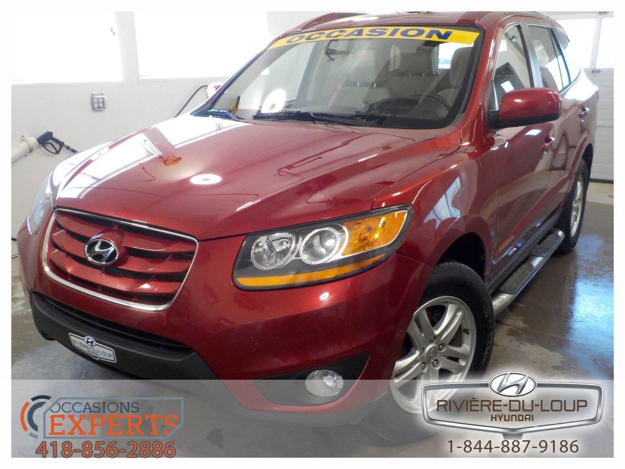2010 Hyundai  Santa Fe GL,AWD,AC,CRUISE,SIEGE CHAUFFANT