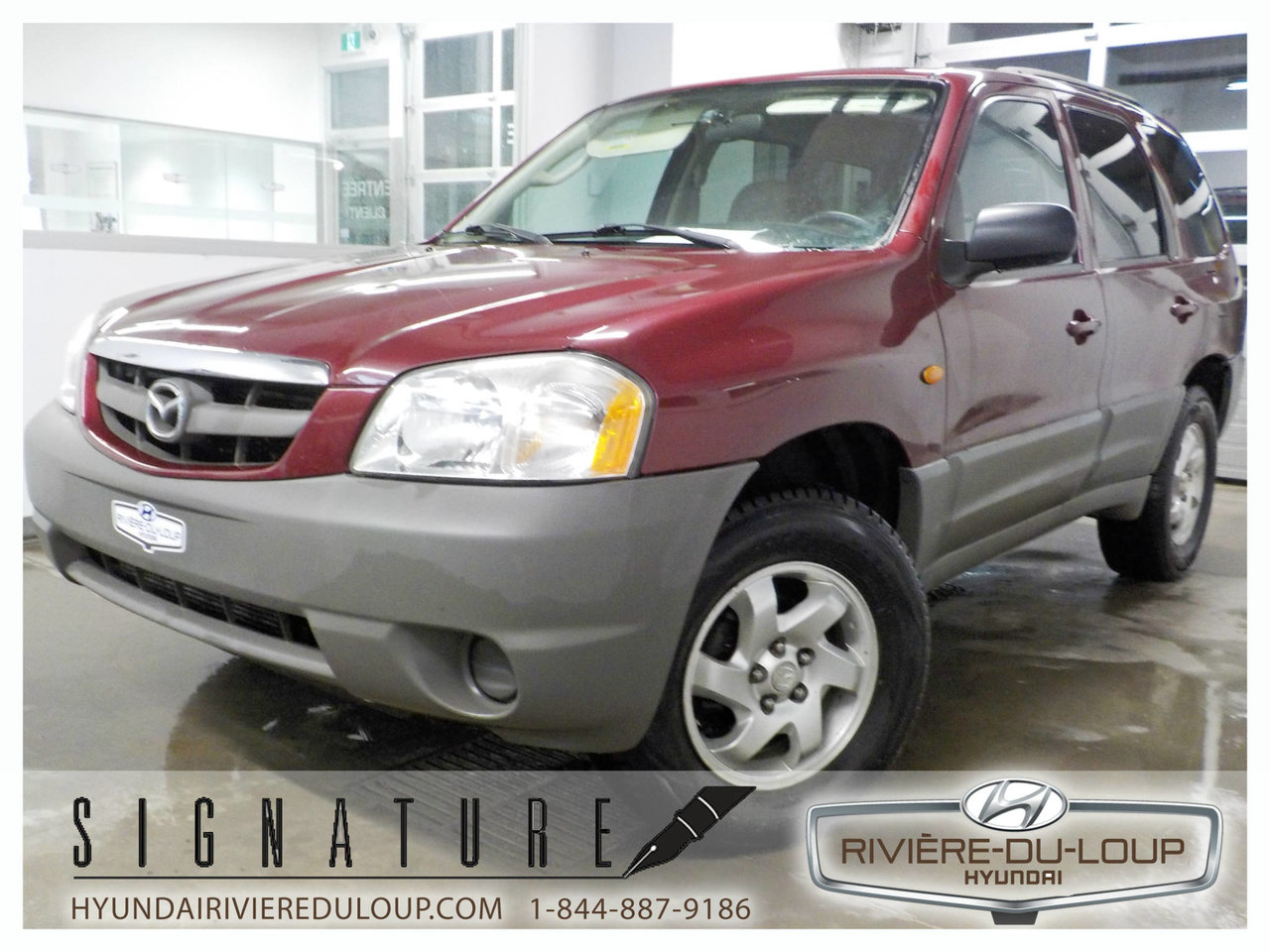 2003 Mazda  Tribute DX, FWD,V6,DEMARREUR A DISTANCE