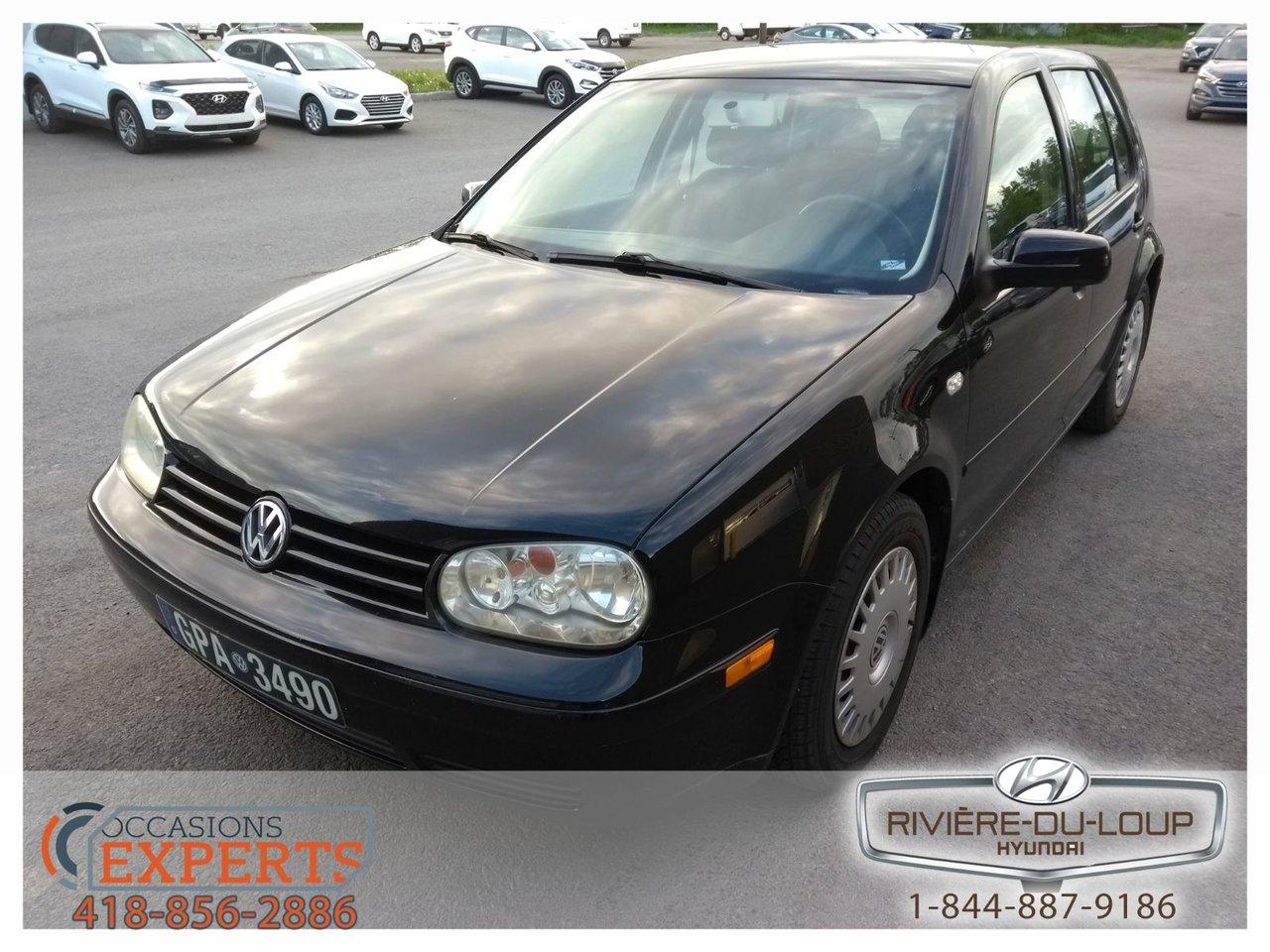 2003 Volkswagen  Golf CL,**A VOIR**